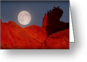 Garden Of The Gods Greeting Cards - Room with a View.. Greeting Card by Al  Swasey