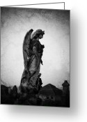 Ireland Greeting Cards - Roscommonn Angel No 4 Greeting Card by Teresa Mucha