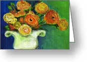 Debbie Brown Greeting Cards - Rose Delight Greeting Card by Debbie Brown