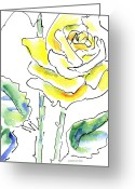 Roses Greeting Cards - Rose Paintings 8 Greeting Card by Gordon Punt
