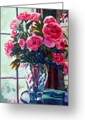 Most Greeting Cards - Rose Symphony Greeting Card by David Lloyd Glover