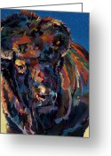 Abstract Realism Painting Greeting Cards - Rosebud Greeting Card by Bob Coonts