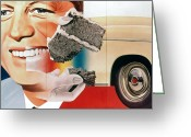 President Kennedy Greeting Cards - Rosenquist: President, 1960 Greeting Card by Granger
