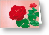 Summer Greeting Cards - RosePleasure-pink Greeting Card by Eakaluk Pataratrivijit