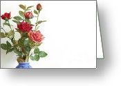 Florist Greeting Cards - Roses Bouquet Greeting Card by Carlos Caetano