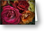 Sharon Obrien-huey Greeting Cards - Roses For The Broken Hearted Greeting Card by Sharon OBrien-Huey