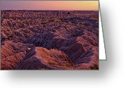 Sundown Greeting Cards - Rough Beauty Greeting Card by Dan Mihai
