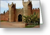 Entrance Door Greeting Cards - Royal Grounds Greeting Card by Sophie Vigneault