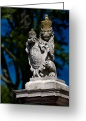 Royalty Greeting Cards - Royal Lion Greeting Card by Christopher Holmes