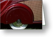 Antique Automobile Greeting Cards - Rr Greeting Card by Dennis Hedberg