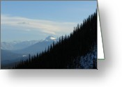 Rows Of Peaks Greeting Cards - Rugged Beauty Greeting Card by Greg Hammond
