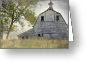 Christine Belt Greeting Cards - Rural America II Greeting Card by Christine Belt