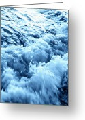 Panama City Beach Greeting Cards - Rushing Water Greeting Card by Skip Nall