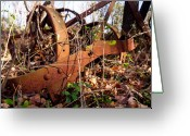 Indian Valley Farm Greeting Cards - Rust Belt Greeting Card by Tim  Fitzwater