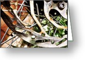 Bicycle Greeting Cards - Rust In Peace Greeting Card by Mark B