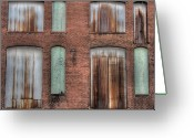 Missouri Photographer Greeting Cards - Rust Never Sleeps Greeting Card by Jane Linders