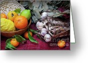 Feed Greeting Cards - Rustic Still-life Greeting Card by Carlos Caetano