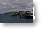 Commencement Bay Greeting Cards - Ruston Way Greeting Card by Victor Hernandez