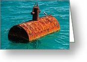 Christopher Holmes Greeting Cards - Rusty Bobber Greeting Card by Christopher Holmes
