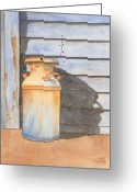 Ken Greeting Cards - Rusty Milk Greeting Card by Ken Powers