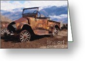 Imac Greeting Cards - Rusty Greeting Card by Stephen Lawrence Mitchell