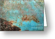 49 Chevy Greeting Cards - Rusty Weather Greeting Card by Deborah  Montana