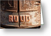 Heater Greeting Cards - Ruud Water Heater Greeting Card by Methune Hively