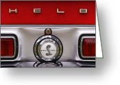 Chrome Jet Greeting Cards - S   H   E   L   B   Y Greeting Card by Gordon Dean II
