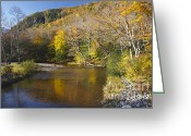 Saco River Greeting Cards - Saco River - White Mountains National Forest New Hampshire Greeting Card by Erin Paul Donovan
