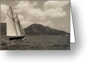 Sailing Fast Greeting Cards - Sailing home Greeting Card by Fulco Tuynman