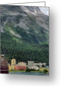 Lakes Greeting Cards - Sailing St Moritz Greeting Card by Jeff Kolker