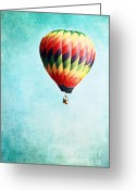 Drifting Greeting Cards - Sailing Greeting Card by Stephanie Frey