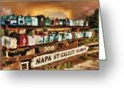 Sausalito Greeting Cards - Sailors Mailbox Greeting Card by Michael Cleere