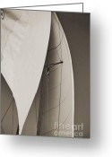 Sails Digital Art Greeting Cards - Sails Greeting Card by Dustin K Ryan