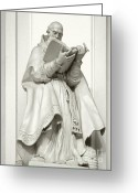 Book Greeting Cards - Saint Ambrose - Holy Trinity Cathedral Dresden Greeting Card by Christine Till
