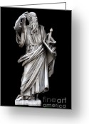 Baroque Greeting Cards - Saint Paul Greeting Card by Fabrizio Troiani