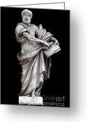 Baroque Greeting Cards - Saint Peter Greeting Card by Fabrizio Troiani