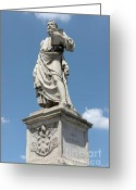 Clemente Greeting Cards - Saint Peters statue Greeting Card by Fabrizio Ruggeri