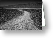 Matthew Trimble Greeting Cards - Salt Road Greeting Card by Matt  Trimble