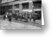 Street Scene Greeting Cards - Salvation Army, 1908 Greeting Card by Granger
