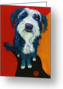 Debbie Brown Greeting Cards - Sam Greeting Card by Debbie Brown
