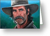 Rick Mckinney Greeting Cards - Sam Greeting Card by Rick McKinney