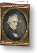 Daguerreotype Greeting Cards - Samuel Finley Breese Morse Greeting Card by Granger