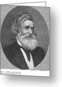 Human Being Photo Greeting Cards - Samuel Howe (1801-1876) Greeting Card by Granger