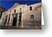 Alamo Greeting Cards - San Antonio HDR 003 Greeting Card by Lance Vaughn