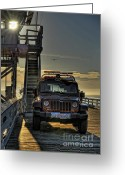Clemente Greeting Cards - San Clemente Pier  Greeting Card by Susan Brown Matsumoto