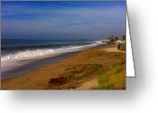 Clemente Greeting Cards - San Clemente Saturday Greeting Card by Tracy Evans