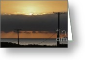 Clemente Greeting Cards - San Clemente Sun Set - 01 Greeting Card by Gregory Dyer