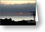 Clemente Greeting Cards - San Clemente Sun Set - 02 Greeting Card by Gregory Dyer