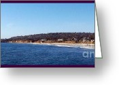 Surf Art La Jolla Digital Art Greeting Cards - San Diego Coast - La Jolla Greeting Card by Glenn McCarthy Art and Photography